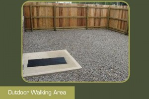 Outdoor Walking Area